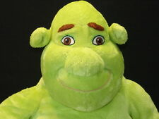 BIG PLUSH DREAMWORKS SHREK 1 2 3RD MOVIE GREEN OGRE NO SHIRT STUFFED ANIMAL