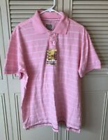 Mossimo Collared Polo Shirt Pink XL Athletic Fit
