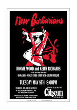 New Barbarians 1979 Cleveland Concert Poster