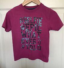 Ragazzi M&Co Rosa #SELFIE #EPIC #WHATEVER #YOLO Graphic T-Shirt-Taglia 3-4 anni