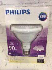 Phillips LED 15w/90w Dimmable Par38 Spotlight Bright White