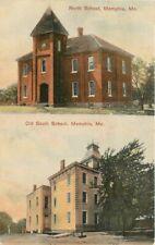 C-1910 North Old South School Memphis Missouri Postcard Reveille 6116