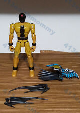 """Power Rangers S.P.D. Evil space alien """"Broodwing/Gold Krybot""""  (Complete)"""