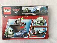LEGO 8426 Disney Cars 2 Escape at Sea, New In Factory Sealed Box