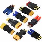 2pcs Amass Adapter XT60 to XT90 EC5 TRX T Connectors for RC Lipo Battery Control