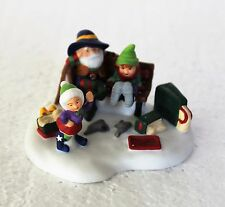 """Department 56 North Pole, Elfland, """"A Perfect Fit"""""""