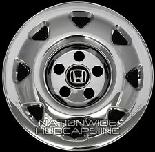 "4 New 1997-2001 Honda CRV 15"" Chrome Wheel Skins Hub Caps Covers Rim Simulators"