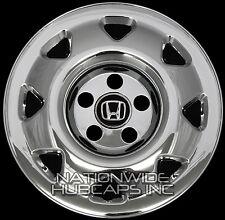 "4 New 1997-2001 Honda CRV 15"" Chrome Wheel Skins Hub Caps Covers Rim Simulators"