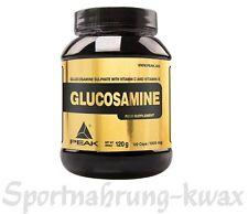 (10,75 Euro/100g) Peak Glucosamin Glucosaminsulfat 120 Kapseln á 1000mg