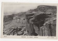 Derbyshire The Surprise Viewpoint Vintage RP Postcard 380a