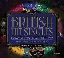 British Hit Singles - 108 Number Ones of the Fifties 1950s 4 CD Set Originals