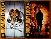 Doomsday Clock 4 Cover A & B  Gary Frank Geoff Johns 1st Prints DC 2018 NM+