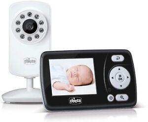 Chicco Baby Monitor Video Smart, Videocamera per Neonati e Bambini con Schermo