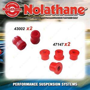 Rear Nolathane Suspension Bush Kit for DAIHATSU HI-JET S70 S75 S76 3CYL