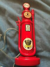 Novelty Telephone ~  ESSO GLASS TOP GAS PUMP ~ old style