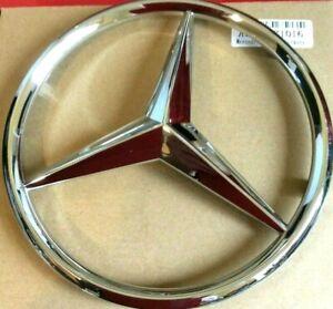 Mercedes  Front Grille Chrome Star Emblem Badge  W205 A,C,B,GLA,GLK,CLA,SLK,CL,E