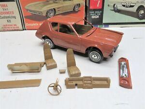 ORIGINAL 1/25 AMT 1976 AMC GREMLIN PROJECT MODEL