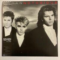 DURAN DURAN NOTORIOUS EMI EMS-91202 Japan OBI VINYL LP