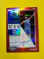 2018-19 Panini Optic Contenders Rookie RC Red Variation Auto112 Mo Bamba /99 🔥