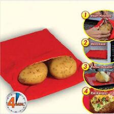 Sacchetto cuoci patate per forno microonde cucina veloce dieta cooking Natale