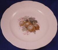 Antique KPM Berlin Porcelain Plate Berry Scene Osier Relief Porzellan Teller