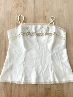 1970s vintage camisole lace & embroidery