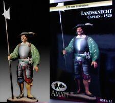 q Figurino AMATI 120 mm - Capitano dei Lanzichenecchi (1528)