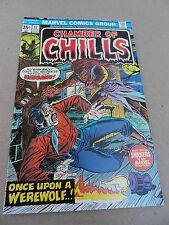 Chamber of Chills 17  . Marvel 1975 -   VF