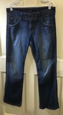 HUDSON Signature Bootcut Jeans with Flap Pockets in ELM Size 32 Shade D