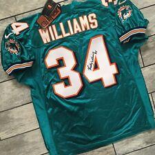 New! Autograph Nike NFL Jersey Miami Dolphins Ricky Williams Sz. 52 XXL Vintage
