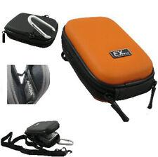Ex-Pro® Orange Hard Clam Camera Case for Leica C-Lux 3, C-LUX1, C-LUX2