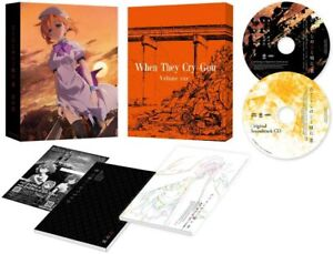 New Higurashi When They Cry Gou Vol.1 DVD Soundtrack CD Booklet Japan KABA-10921