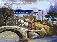 "Albania ""Europe 2020 - Ancient postal routes"" Block - I send it within the day"