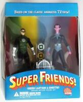 DC Direct Super Friends Green Lantern  & Sinestro Deluxe Action Figure Set
