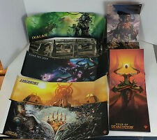 MTG FatPack Bundle Sleeve Mini Poster Lot of 7 - Free Shipping!
