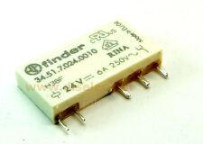 34.51.7.024.0010 - Relé - Relay Finder 24 vdc  6A 3350R - SPDT