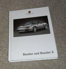 Porsche Boxster Hardback Brochure 986 2.7 3.2 S 2002 - 986 Gen 2