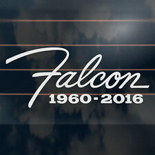 Falcon 1960-2016 Sticker 190mm ford rip rest in peace car window decal