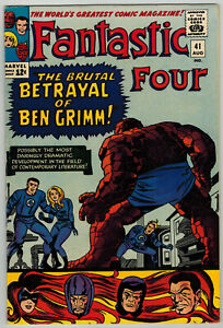 Fantastic Four 41 (1965) VF+