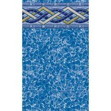 "LATHAM 15' x 30' x 48"" Oval Unibead AG Swimming Pool Liner BRIGHTON PRISM"