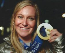 Jamie Anderson Snowboarder Olympic Gold Medal Authentic Autographed 8x10 COA