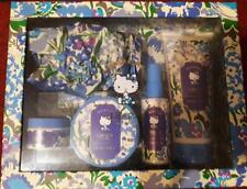 # BRAND NEW # BOOTS HELLO KITTY LIBERTY BATH TIME TALE GIFT SET INC SHOWER CAP