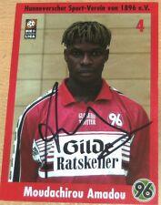 Moudachirou Amadou - Hannover 96 / FC St. Pauli / KSC