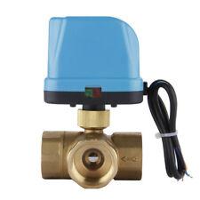 DN25 (G1.0 Zoll) 3-Wege 220V Zonenventil Elektro Ventil Kugelventil Dreiweg H1S9