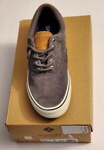 Sperry Men Striper II CVO Corduroy Sneakers Grey - Choose Size