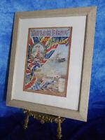 Vintage TAYLOR BROS Cocoas & Chocolates Advertising Poster Print King Edward VII