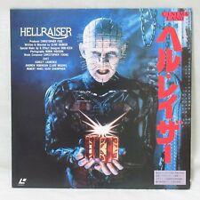 HELLRAISER 1987' Laserdisc LD Japanese Subtitles No OBI