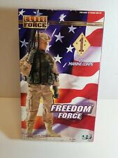 """Elite Force US Marine Corps Freedom Force 1/6th Scale 12"""" Action Figure NIP"""