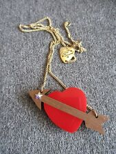 TATTY DEVINE HEART AND ARROW NECKLACE