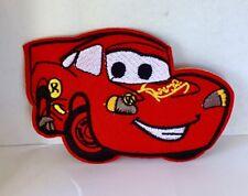 Disney Cars Lightning McQueen brodé Appliques Patch A Coudre ou Fer Sur #41